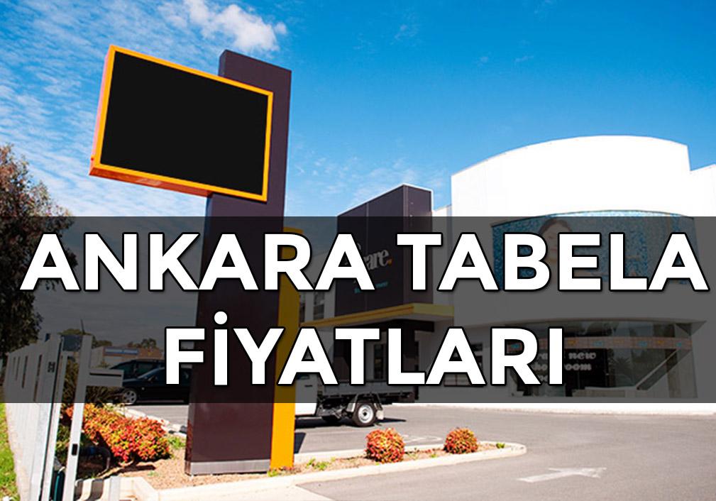 Ankara Tabela Fiyatları
