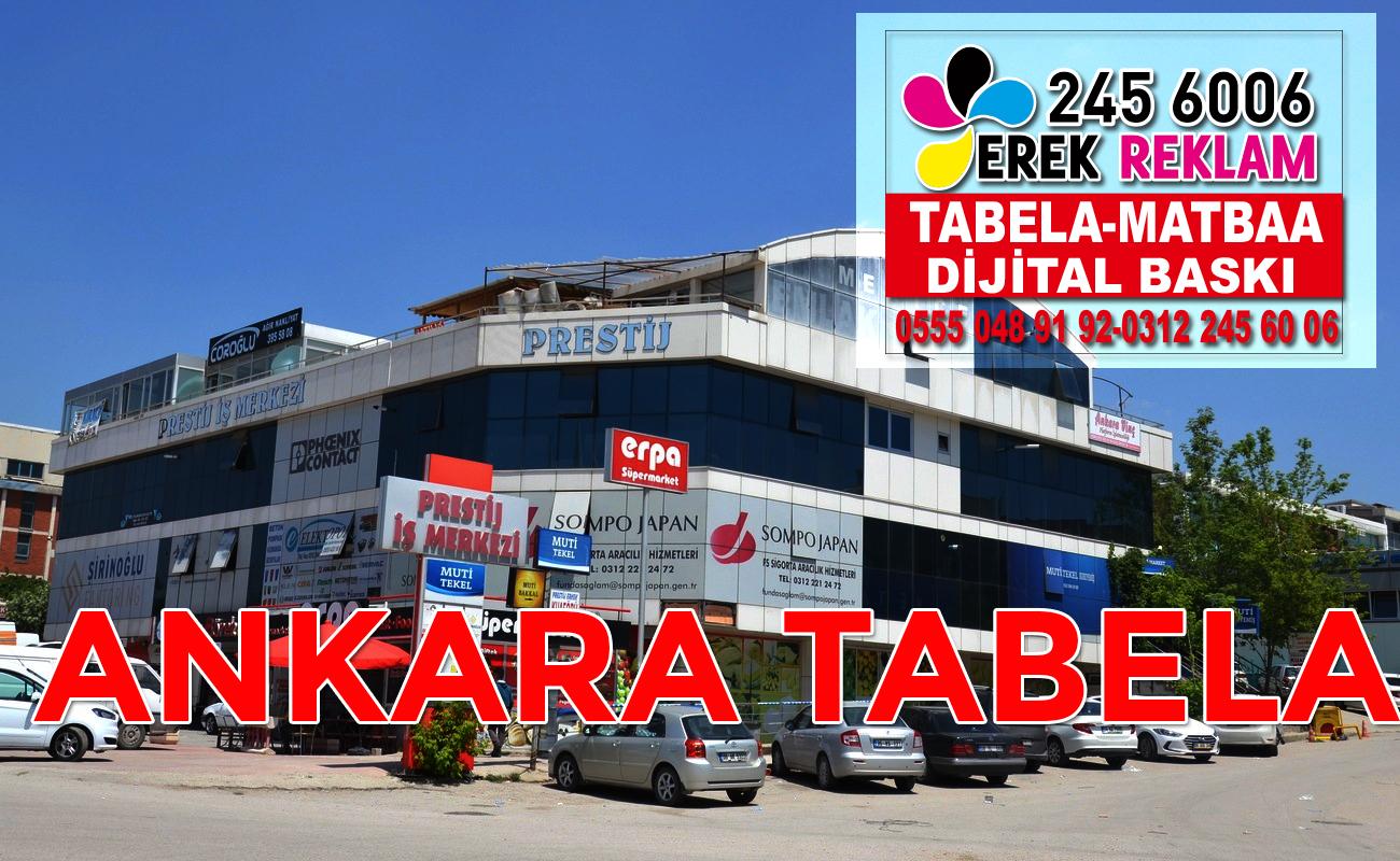 Ankara Tabela Firmaları